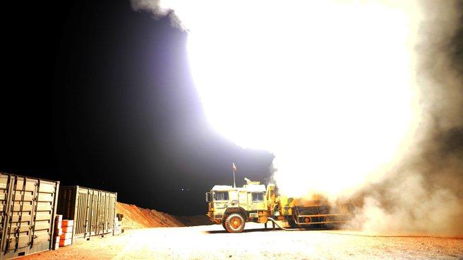 Afrin'de teröristlerin petrol rafinerisi böyle imha edildi