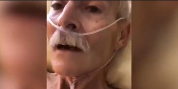 Almanya'da yasli bir adam son nefesini verirken Müslüman oldu