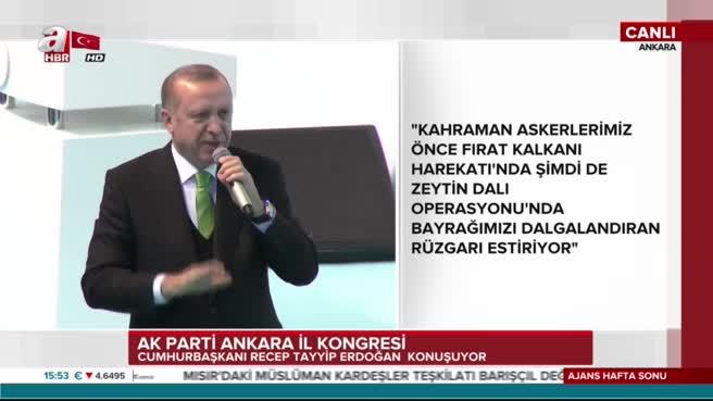Cumhurbaşkanı Erdoğan'dan duygulandıran sözler