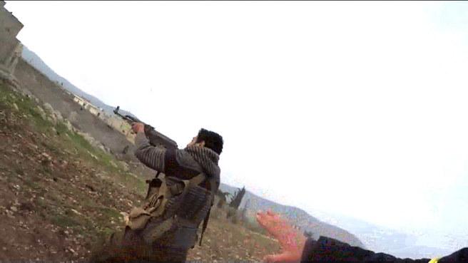 İşte Raco'daki cephe hattından yeni görüntüler