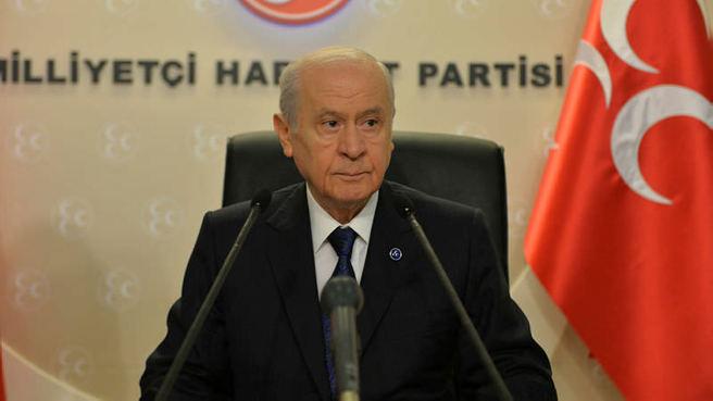 MHP lideri Devlet Bahçeli'den Milli ittifak açıklaması