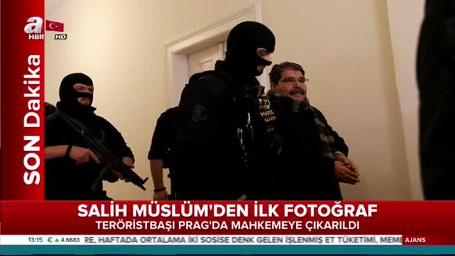 Teröristbaşı Salih Müslüm'den ilk görüntüler geldi.