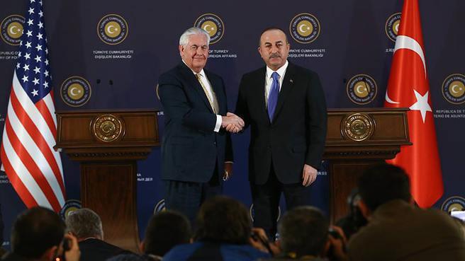 Türkiye - ABD ile ortak bildiri yayımladı