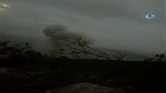 8 askerin şehit olduğu Keltepe jetlerin bombardımana tutuldu