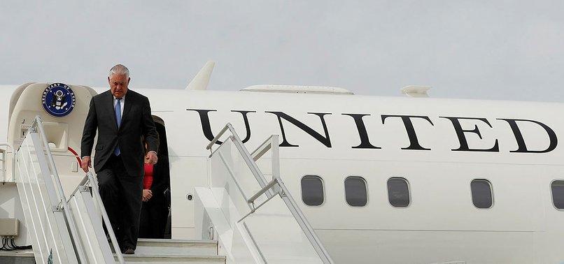 Rex Tillerson az önce Türkiye'ye geldi.