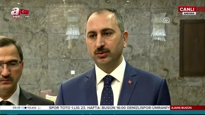 Adalet Bakanı Gül: Komisyon çalışmalarına yarın başlayacak