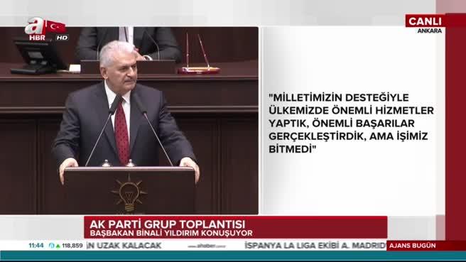Başbakan Binali Yıldırım merhum lider Prof. Dr. Necmettin Erbakan'ı andı