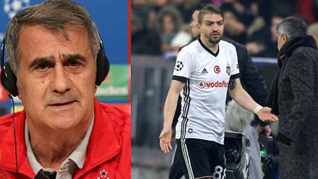 Beşiktaş Teknik Direktoru Şenol Güneş'ten Caner Erkin açıklaması