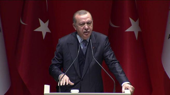Cumhurbaşkanı Erdoğan: Afrin'de yeni strateji mesajı verdi.