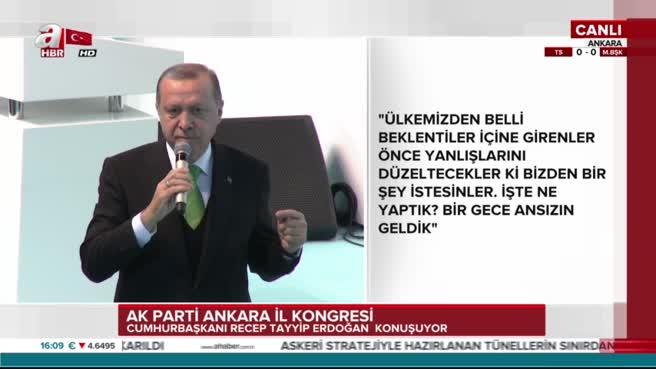 Cumhurbaşkanı Erdoğan: Biz ABD'ye dedik ki...