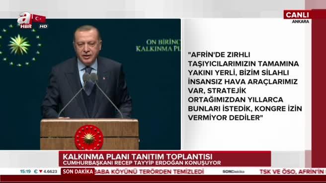 Cumhurbaşkanı Erdoğan: İnsansız tankları da yapacağız dedi.