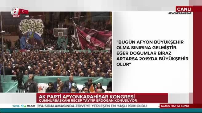 Cumhurbaşkanı Erdoğan'dan açılan o pankarta yorum