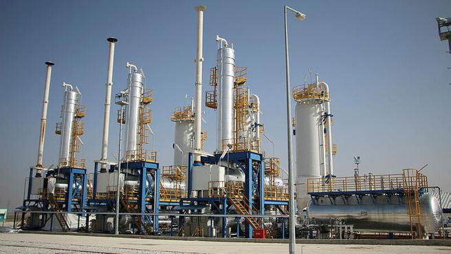 İşte Türkiye'nin doğalgazını karşılayan Tuz Golu Dogalgaz Depolama Tesisi!