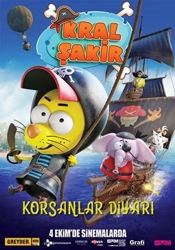 Kral Şakir Korsanlar Diyarı Filmi