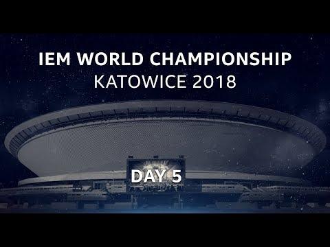 LIVE: Astralis vs FaZe - Semifinal - IEM World Championship Katowice 2018