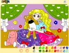 Prensesi Boyayalım Oyunu Oyna