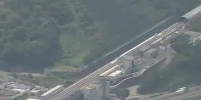 Saatte 600 km hızı aşan Tren!