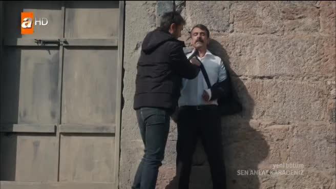 Sen Anlat Karadeniz'de Vedat'ı bulan Tahir öldüresiye dövüyor!