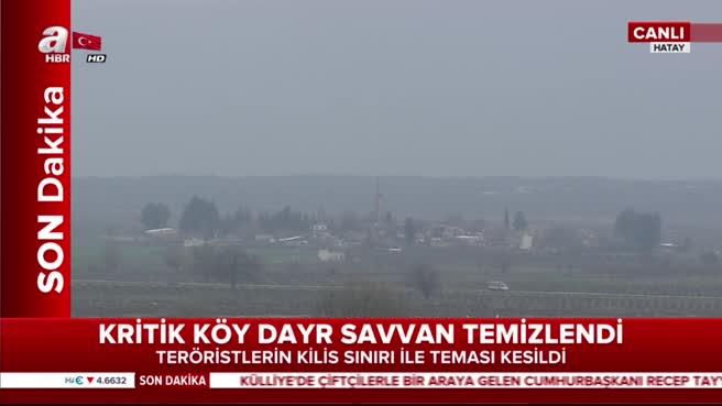 Teröristlerin Türkiye sınırıyla teması kesildi