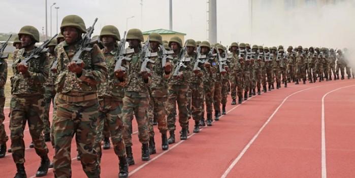 TSK'nın eğittiği Somali'li astsubaylar işte böyle mezun oldu